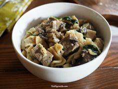 Delicious, creamy beef stroganoff with melt-in-your-mouth meat made in the Instant Pot in just about thirty minutes? YES PLEASE!