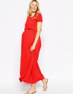 21818eb0928c5 High Quality Maternity Dresses Clothes For Pregnant Women Clothing O-Neck  Short Sleeve Evening Dress