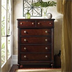 British Colonial - Drawer Chest in Caribe - 020-63-13 - Stanley Furniture - dresser - bedroom