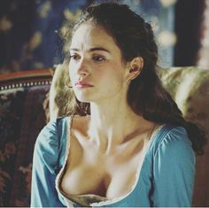 Lily James as Elizabeth Bennet in Pride and Prejudice and Zombies