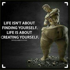 What is your ideal self like? Take steps towards creating your life, your way :-) (Fitness Motivation Quotes) - Learn how I made it to in one months with e-commerce! Wisdom Quotes, Quotes To Live By, Me Quotes, Motivational Quotes, Inspirational Quotes, Self Made Quotes, Fitness Motivation Quotes, Life Motivation, Motivation Inspiration