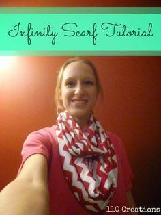 Infinity Scarf Tutorial - 110 Creations
