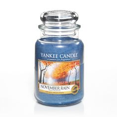 November Rain - Candles - Yankee Candle smelled this in the store and it's so awesome!