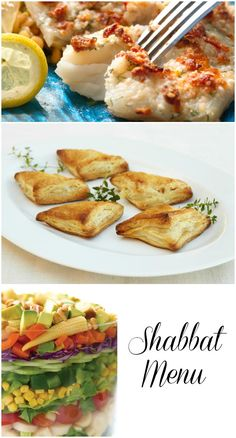 A Dairy Shabbat Menu with Fish as the Star