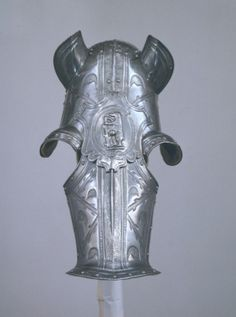 Shaffron from an armour of Robert Dudley, Earl of Leicester. English, Greenwich, about 1575
