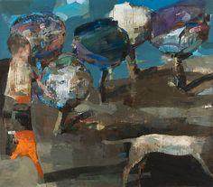 JEAN PIERRE RUEL, Le chasseur 2012, huile sur toile / oil on canvas