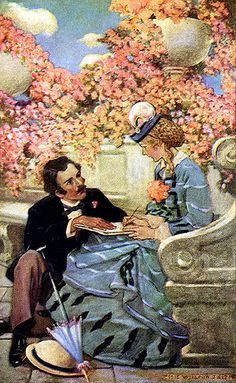 illustr.quenalbertini: Illustr. from the book Little Women  by Jessie Willcox Smith