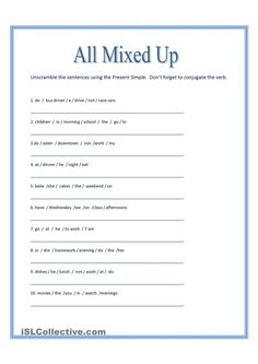 Mixing up words when writing a business