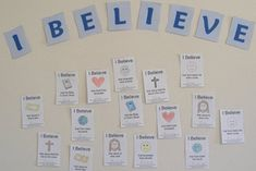 Free Printable: I Believe Wall