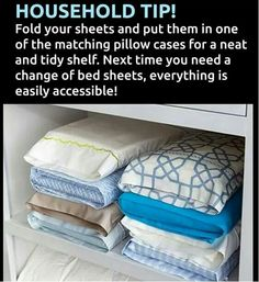 Keep duvet cover in one of the matching pillow cases