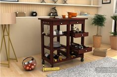 Happiness is homemade !! Organize your Kitchen Stuffs with Wooden Street Kansis Kitchen Trolley. It will serve your purpose for #DiningCabinets helping you to store your crockeries. #KitchenTrolley #crockeryunit #diningcabinet #diningroomfurniture #homefurniture #home #kitchen #kitcheninteriors #kitchenideas #styleyourkitchen #homedecor #homestyling  Visit to buy: https://goo.gl/mwGHpF