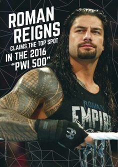 Congrats Roman. You Deserve It. ~ #BelieveThat
