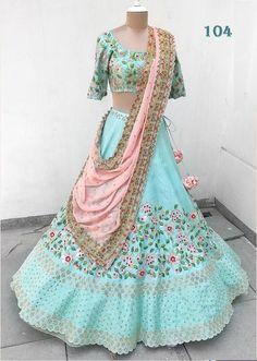Indian Pakistani Lehenga designer Women Clothing heavy lengha with readymade stitched blouse for wedding function / lengha / lehenga choli