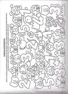 Back To School Number Order Cut & Paste Teaching Numbers, Numbers Preschool, Math Numbers, Preschool Math, Math Games, Toddler Activities, Preschool Activities, Worksheets For Kids, Kindergarten Worksheets