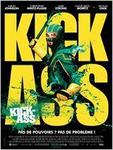 Kick-Ass  Date de sortie 21 avril 2010 (1h57min)  Réalisé par Matthew Vaughn Avec Aaron Taylor-Johnson, Nicolas Cage, Chloë Grace Moretz plus Genre Action , Drame Nationalité Britannique , américain