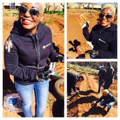 @mskaysa - In action #seeding #67minutes #MandelaDay #carrotseeds #this better grow hey