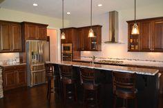 Custom kitchen @ The Birchwood