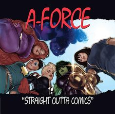 This is the Adam Hughes Hip-Hop variant cover for A-Force #1 from 2015.