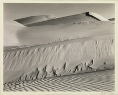 Dunes, Oceano, 1936 Edward Weston (American, 1886–1958) Gelatin silver print; 7 5/8 x 9 5/8 in. (19.3 x 24.4 cm) Ford Motor Company Collection, Gift of Ford Motor Company and John C. Waddell, 1987 (1987.1100.129) © 1981 Center for Creative Photography, Arizona Board of Regents