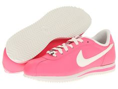 Nike Cortez Leather '06 Polarized Pink/Sail - Zappos.com Free Shipping BOTH Ways
