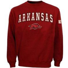 Big comfy Arkansas crewneck sweatshirt