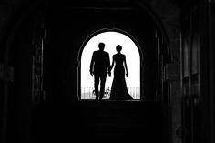Bride and Groom in Tenuta di Ripolo