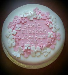 Christening Cake Cakes And More, Christening, Birthday Cakes, Weddings, Desserts, Food, Tailgate Desserts, Deserts, Wedding