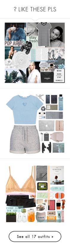 """""""☆ LIKE THESE PLS"""" by jmperez2061 ❤ liked on Polyvore featuring Prada, Chanel, Soft-Tex, WALL, Alasdair, Monki, ASOS, Topshop, Nails Inc. and philosophy"""