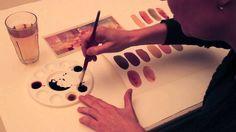 Sandfarver - Britta Johanson viser, hvordan man blander forskellige sandfarver