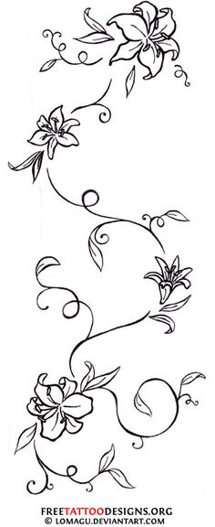Google Image Result for http://www.freetattoodesigns.org/images/tattoo-gallery/lily-vine-tattoo.jpg