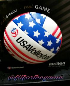 The Official Ball for USA Volleyball. #TeamUSA #USAVolleyball https://fitnessforthegame.wordpress.com/2015/07/22/be-equipped-and-ready-for-action/ #ShopSaturday #SportsSaturday #Shopping #Sports #Volleyball #Equipped #Hit #Spike #MoltenUSA