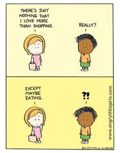 I LOVE Angry Little Girls comics