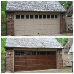 Clopay gallery collection grooved panel steel garage door for Clopay gallery ultra grain walnut