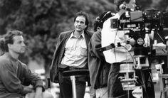 Oliver Stone on the set of 'JFK.'