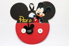 Convite de Aniversário Mickey. m convite super diferente!  Fazemos também com a Minnie.