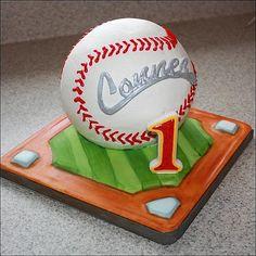 baseball birthday cake