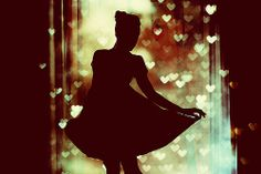 a girl's silhouette will always be beautiful
