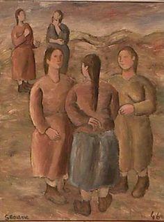 Mulleres (1946) Luis Seoane