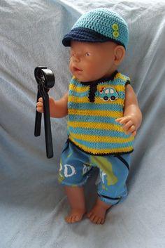 Oblečky pro panenky - letní chlapecký