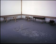 in relationship with conceptual and performance art like Joseph Bueys