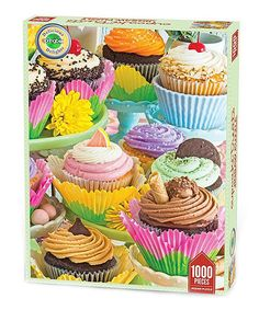 Look what I found on #zulily! Cupcake Treats 1000-Piece Puzzle by Springbok Puzzles #zulilyfinds