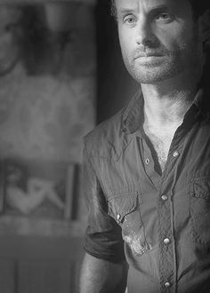 andrew lincoln: sheriff rick grimes