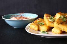 Polenta-Sticks mit Chili-Söss...