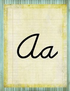 Add these alphabet posters to your classroom for a perfect fit with a rustic, vintage, retro chic classroom environment