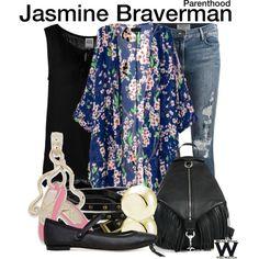 Inspired by Joy Bryant as Jasmine Braverman on Parenthood.