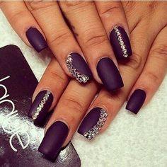 add a caption ☺ ✿ ☺ Cute Nail Art Designs, Long Nail Designs, Nail Art Rhinestones, Glitter Nail Art, Nail Art Diy, Crazy Nail Art, Pretty Nail Art, Classy Nails, Cute Nails