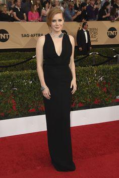 Amy Adams in Brandon Maxwell | The 2017 SAG Awards