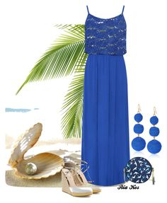 summer outfit by ria-kos on Polyvore featuring WearAll, Fendi and Kenneth Jay Lane