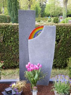 Grave Headstones, Cemetery Decorations, Bunt, Planter Pots, Joy, Memories, Birthday, Memorial Ideas, Catholic