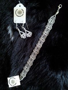 Scandinavian Design, Wire Jewelry, Handicraft, Wire Wrapping, Jewelry Making, Beads, Bracelets, Silver, Handmade